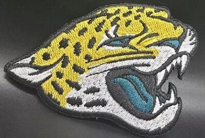 Jacksonville Jaguars NFL~Embroidered Iron On Logo Patch~Free Shipping From - Jaguars Jacksonville