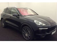 PORSCHE CAYENNE 3.0 V6 D 260 PLATINUM EDITION GTS TURBO FROM £190 PER WEEK!