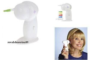 Ear clean pulitore orecchie aspiratore elettrico pulizia - Aspiratore elettrico da finestra ...
