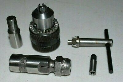 New Jacobs Rohm 14 Chucks - Collet - Spindle Adapter Dumore Other Grinder