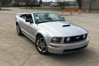 2008 FORD MUSTANG GT CONVERTIBLE 93KM SAFETIED!!