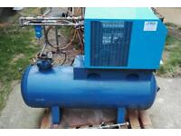 Compressed Air Drier. 500 Ltr 40cfm for use with Air or Screw Compressor.
