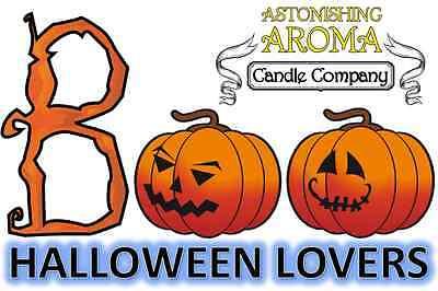 HALLOWEEN LOVERS COLLECTION Soy Wax Clamshell Break Away tart melt candle (Halloween Breaks)
