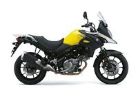 2017 SUZUKI DL 650 V-STROM CHAMPION YELLOW,