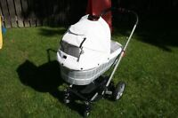 Stroller HARTAN VIP  with fold carrycot
