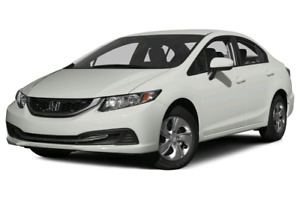 2015 civic (ONLY 7000km!!)