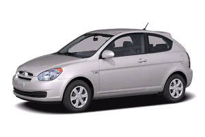 2007 Hyundai Accent etested