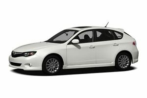 WANTED: 2011 Subaru Impreza Hatchback, manual, low milage