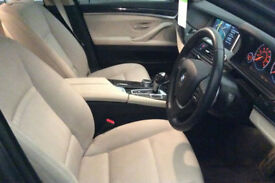 Grey BMW 520 2.0TD d Auto 2015 Luxury FROM £67 PER WEEK!