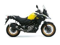 2017 SUZUKI DL 650 V-STROM XT, CHAMPION YELLOW,