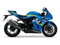 2017 SUZUKI GSX-R 1000, METALLIC TRITON BLUE, BRAND NEW!