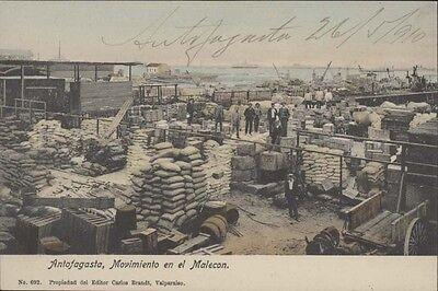Chile Antofagasta Movimiento En El Malecon Ed  Brandt N  692