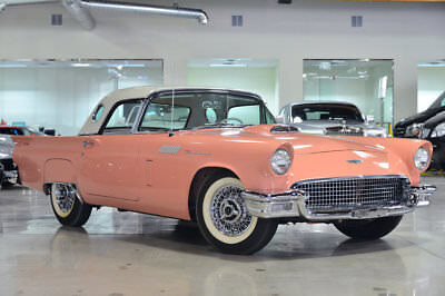 Ford Thunderbird F-Code 1957 FORD THUNDERBIRD FACTORY SUPERCHARGED F-CODE