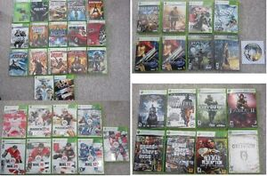 X-Box 360 Games - $10.00, 15.00, or $20.00