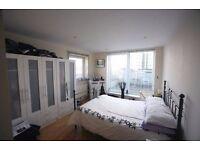 Double Bedroom (en-suite) with own bathroom inside at Pontoon Docks DLR Station.