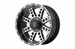 1 XD Diesel XD76689012500 18x9 Matte Black & Mahcine Wheels Ford and Jeep
