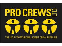 Event Crew London