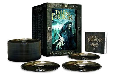 Tales of Terror DVD Box Set of 200 Horror Movies