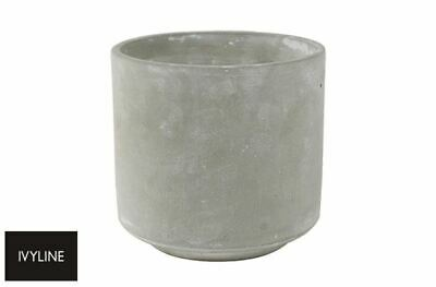 Tivoli Planter Plant Pot Concrete Traditional Rustic - 12cm 15cm 17cm - Ivyline