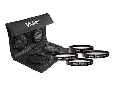 Vivitar 4pc Macro +1/+2/+4/+10 Lens Kit For Sony Slt-a35k Slt-a35