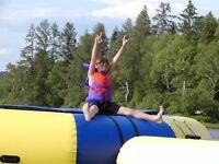 Lakefront Cottage Resort no resort fees.  Inc. 6 boats/trampolin