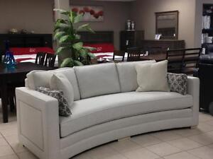 BEAUTIFUL CANADIAN MADE FABRIC SOFA!!!