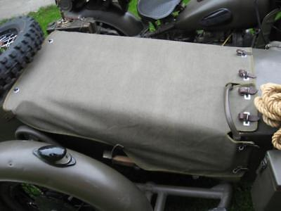 Sidecar Cover - Sidecar canopy cover button top canvas M-72  K-750 URAL DNEPR COSSACK NEVAL NEW