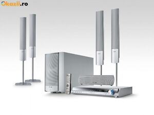 Panasonic SC-HT17 5.1CH Silver Home Theater System