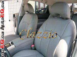 Clazzio Synthetic Leather Seat Covers (Front + Rear Rows) | 2004-2019 Toyota Prius