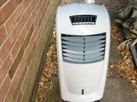 Challenge Air Cooler & Humidifier With Ice Blocks It Is Portable As On Castors