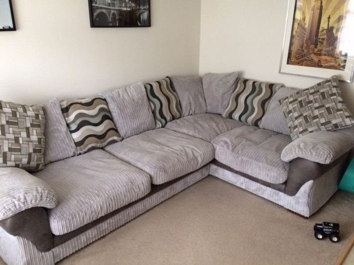 Harveys Lullaby Cuddle Chair And Cord Corner Sofa In