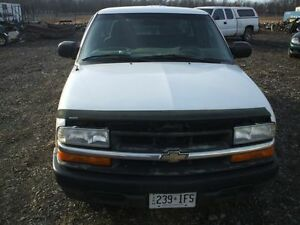 PARTS AVAILABLE FOR A 2000 CHEVROLET S10