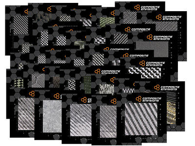 Carbon Fiber Woven Fabric Samples