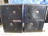 Carlsbro PA speakers