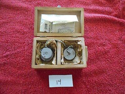 Vintage Dow Mechanical Stage Set Master Model 10 Tg-96253  Orig. Wood Box