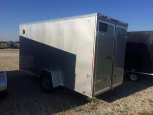Brand New 2018 LOOK 6x12 Enclosed Utility Trailer