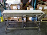 Used 7 Ft Stainless Steel Conveyor (72)