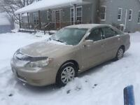 2005 Toyota Camry LE Sedan Moncton New Brunswick Preview