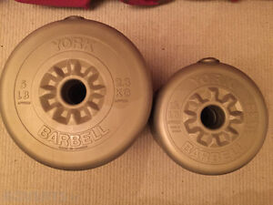 Need more weight on your bar? York Barbell Weights $0.30 per LB