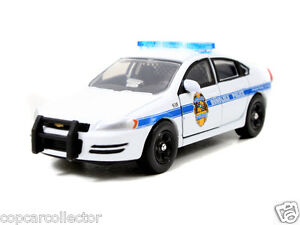 Jada 1/64 Honolulu, HI Hawaii Police Chevy Impala - Hero Patrol