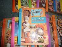 THE JUNIOR ENCYCLOPAEDIA COMPLETE SET 1 – 16 BOOKS (RETRO READING)