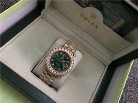 Green dial Rolex watch Sale