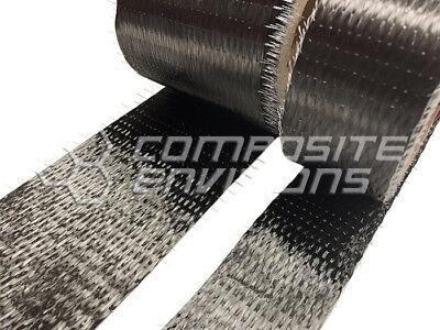 Carbon Fiber Cloth Fabric Uni Directional 12k 11oz Tape 1