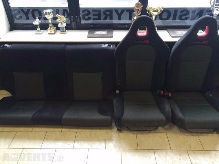 HONDA CIVIC TYPE R EP3 FULL INTERIOR SET ( SPORT FRONT SEATS AND REAR SEAT )