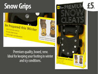 Snow grips - for any shoe/boot