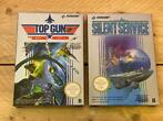 Nintendo Nes - Top Gun - Silent Service (2) - In originele v