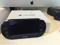 Boxed Ps Vita for sale in perfect condition with fifa 15!