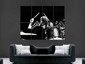 DAVE-GROHL-DRUMMING-DRUMS-FOO-FIGHTERS-NIRVANA-ART-WALL-PICTURE-POSTER-GIANT