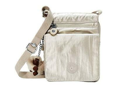 Kipling Eldorado Small Crossbody Bag - Cloud Grey Metallic
