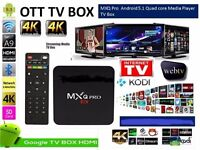 MXQ PRO. Android Streaming Box.